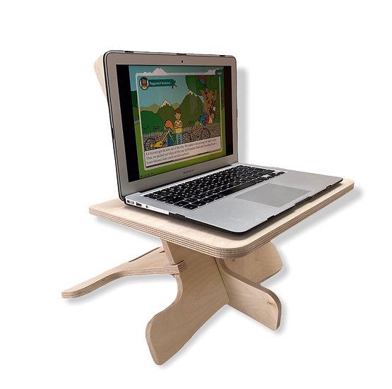 Mini Well WorkStation - Standing Desk Converter for Laptop Users
