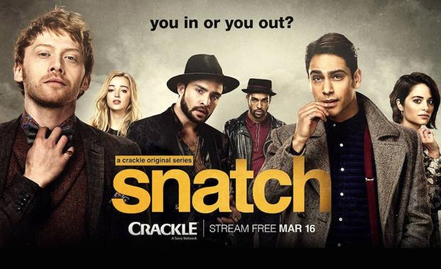 "Marbella Local actors and film crew involved in TV series ""Snatch"" - Shooting on the Costa Del Sol"