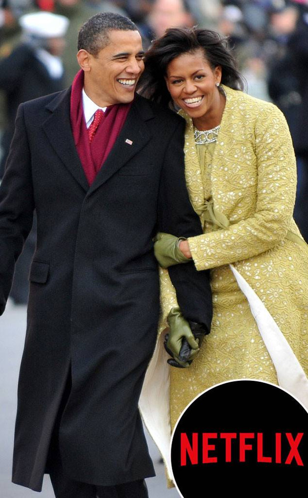 Mr  & Mrs  Obama partner with Netflix