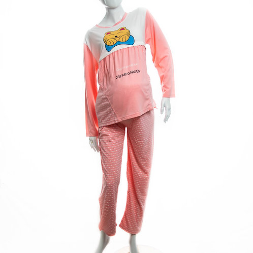 Pijama pantalón de lactancia