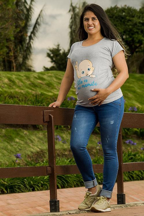 Camiseta Ella es mi Mamita
