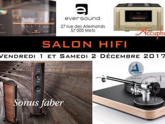 Salon Hifi au magasin