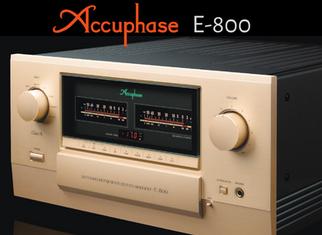 Accuphase E-800 à l'écoute