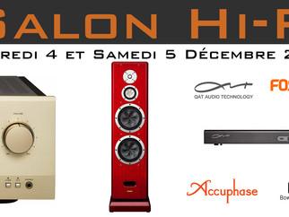 Salon Hi-Fi du 4 au 5 Décembre 2015