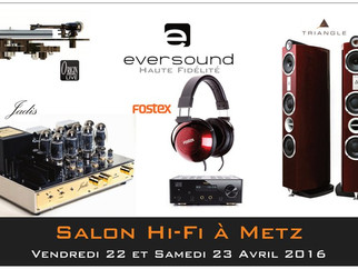 Salon HIFI du 22 au 23 Avril 2016