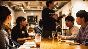 学生と企業が食べ飲みしながら本音で話すイベントを開催しました!
