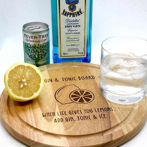 Gin & Tonic Board