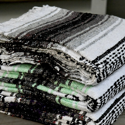 Native Yoga Mexican Blanket (Gray)-Best Online Yoga Gifts in Singapore