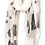 Ivory and Black Avir scarf-Best Online Gifts for Girls in Singapore