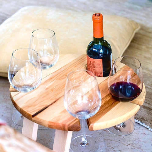 Portable Wine Table (for 4)