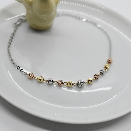 Yellow White & Rose Gold Bracelet-Best Online Gifts for Girls in Singapore