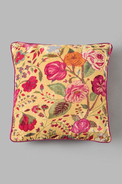 Farah Baksh Silk Velvet Cushion-Online Gifts Singapore