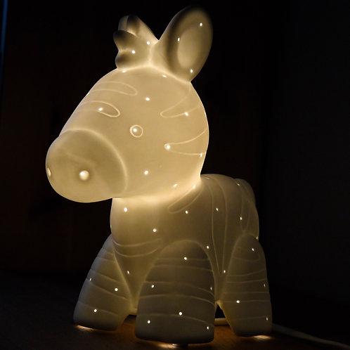 Zoo Table Lamp - Zebra-Newborn Gifts Singapore