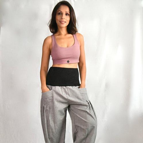 Virblatt Flare Pants Yogazelt Grey