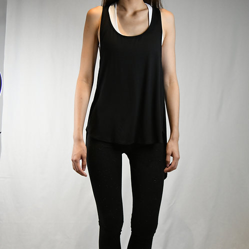 Open Back Sleeveless Tee-Best Online Yoga Gifts in Singapore