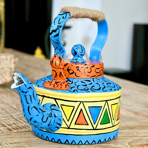 Hand-painted tea/coffee Kettle