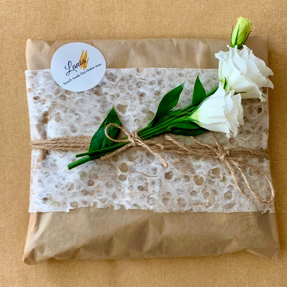 Lanos gift wrapping sample