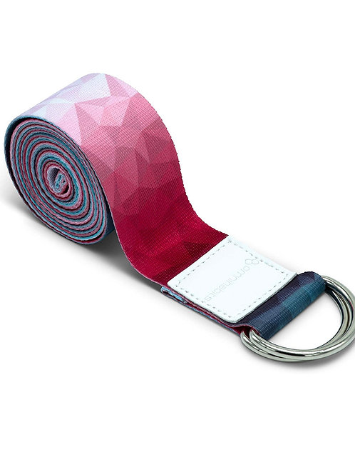 Yoga Strap With Adjustable D-Ring Buckle-Best Online Yoga Gifts in Singapore