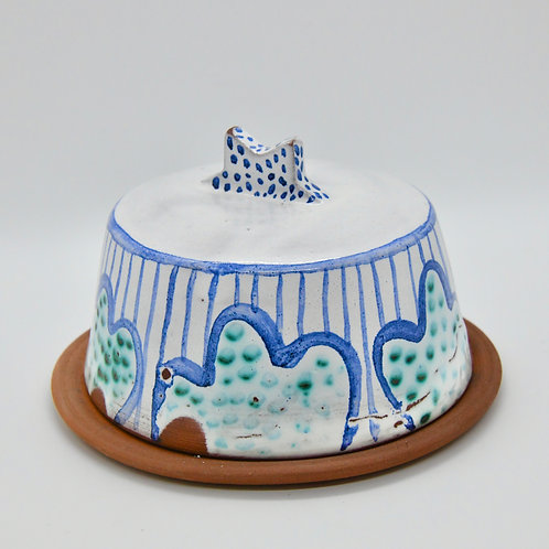 Moonsoon Star Butter Dish