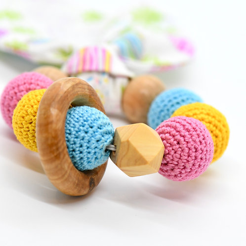 Teething Toy (Bunny Ears Teether)-Best Online Gifts in Singapore