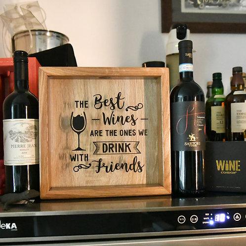 Wine Cork Memory Box