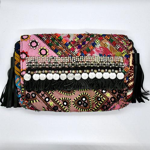 Banjara Footlong Clutch (Black)-Online Gifts Singapore