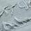 Thumbnail: Smoke Grey Shawl With Crystals