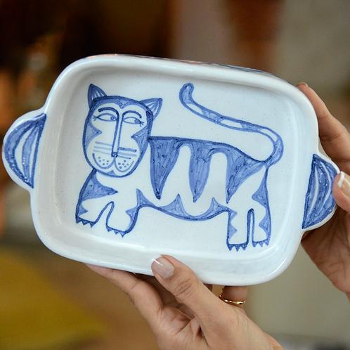 Cat Bake & Serve Dish