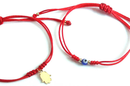 Red String Couples Bracelet (Set of 2)--Best Online Gifts for Girls in Singapore
