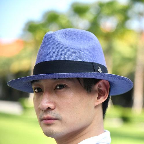 Classic Panama Hat Purple (L)