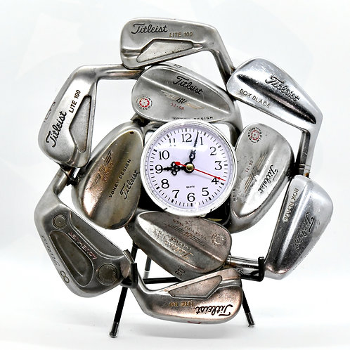 Titleist Vintage Golf Irons Clock