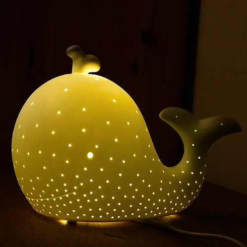 Zoo Table Lamp - Whale-Newborn Gifts Singapore