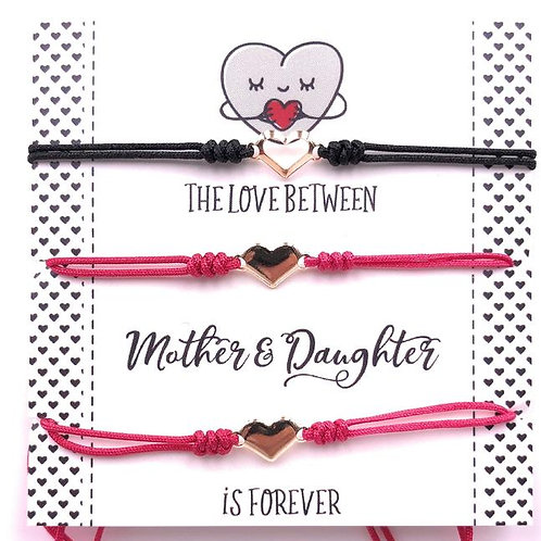 Mother and Daughter Matching Bracelets (Set of 3)-Best Online Gifts for Girls in Singapore