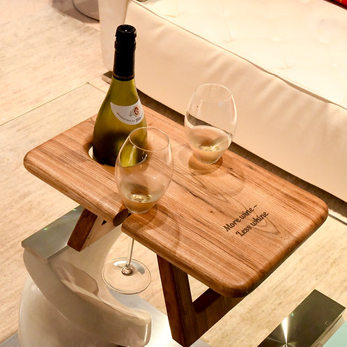 Folding Wine Table (for 2)