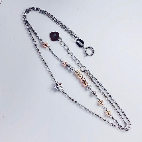 14K Yellow, White, Rose Gold Bracelet-Best Online Gifts for Girls in Singapore