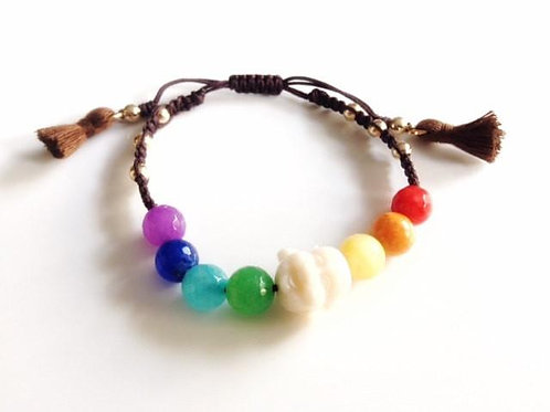7 Chakra Bracelet-Best Online Yoga Gifts in Singapore