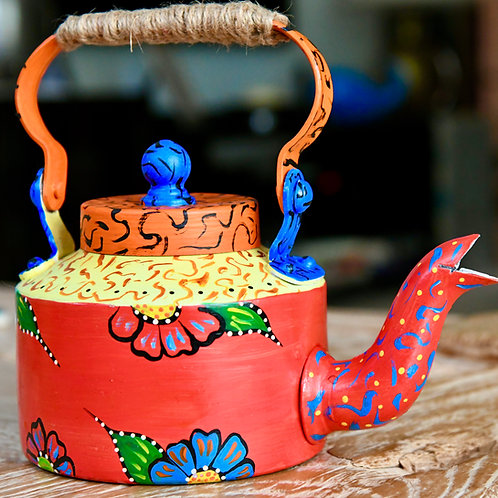 Hand-painted tea/coffee Kettle