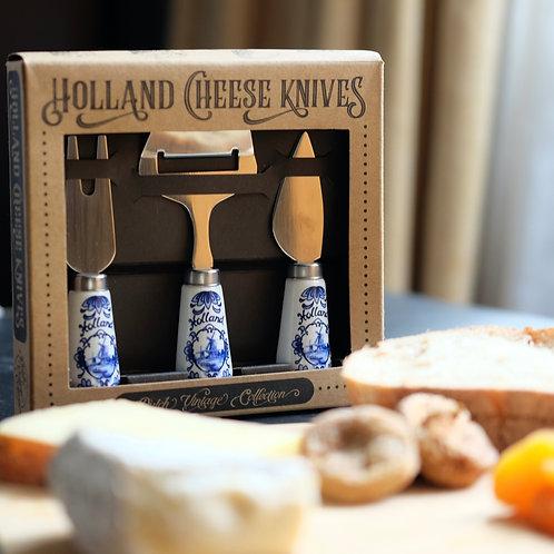 Dutch Cheese Knives Gift set (3pcs)