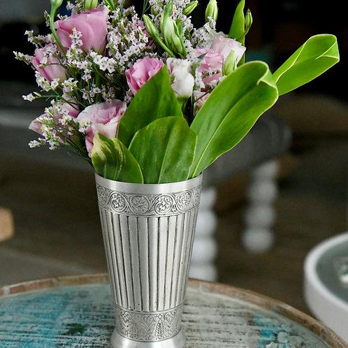 Silver Platted Osh Vase