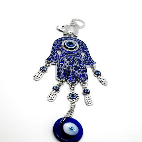Hamsa Hand Turkish Blue Evil Eye Ornament