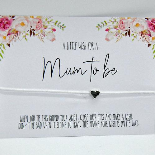 """Mum to be"" bracelet"