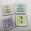 Yoga Animal Coasters (Set of 4)-Best Online Gifts in Singapore