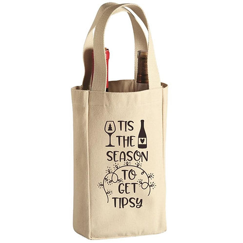 2-Wine Bottle Tote Bag-Online Gifts Singapore