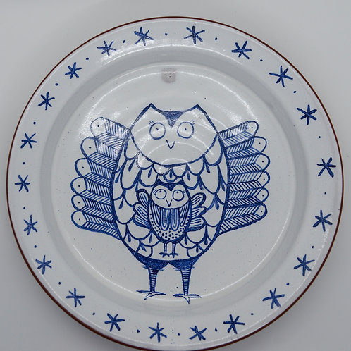 Owl Serving /Baking Plate