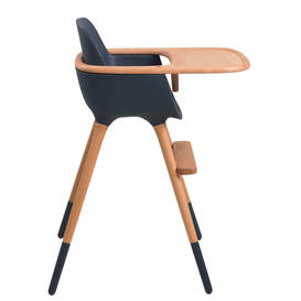 baby meal chair with wooden leg