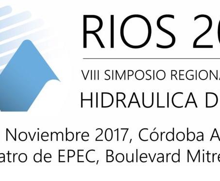 Se viene el VIII Simposio Regional sobre Hidráulica de Ríos
