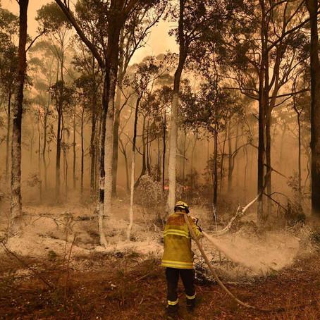 Australia bajo fuego