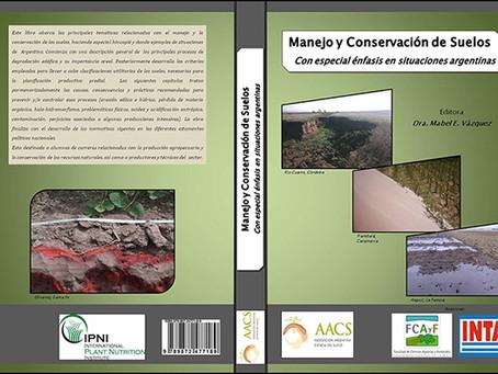 """Nuevo Libro """"Manejo y Conservación de Suelos""""."""