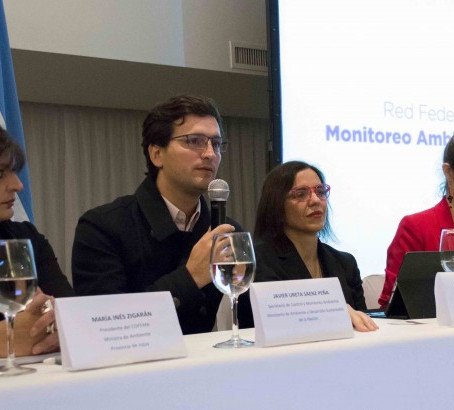 Primera red federal de monitoreo ambiental en Argentina