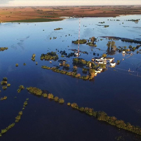 Inundaciones, el mayor desastre natural que amenaza al país